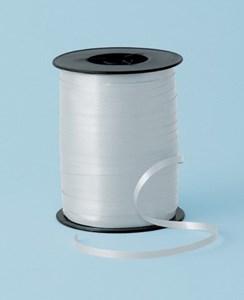 Obrázek Stužky ozdobné - hladké / cívka 500 m / stříbrná