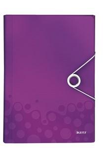 Obrázek Spisovka s přihrádkami Leitz WOW - fialová