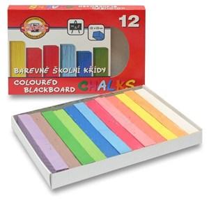Obrázek Křídy školní - sada 12 barev