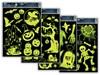 Obrázek Dětské okenní folie 30 x 42 cm - halloween svítící